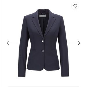 • Hugo Boss navy blazer 2 button